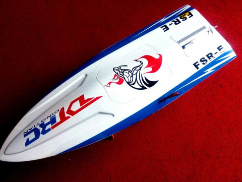 BULLET BRUSHLESS RC BOAT / RACING BOAT WITH BRUSHLESS MOTOR