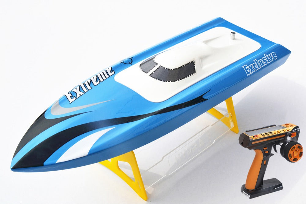 FIBER GLASS ELECTRIC BRUSHLESS RACING BOAT REMOTE CONTROL