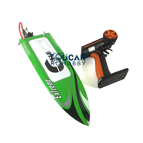 FIBER GLASS RC ELECTRIC BRUSHLESS RACING BOAT