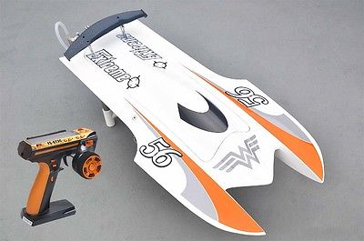 RACING SPEED BOAT W/2550KV BRUSHLESS MOTOR/ 90A ESC/REMOTE CONTROL