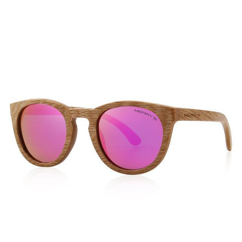 HAND MADE Wooden Sunglasses Men/Women Retro Polarized Sun Glasses 2018