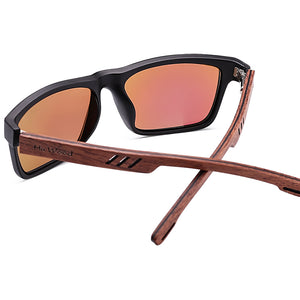 Zebra Wood Sunglasses For Men Fashion Sport Color Gradient Sunglasses