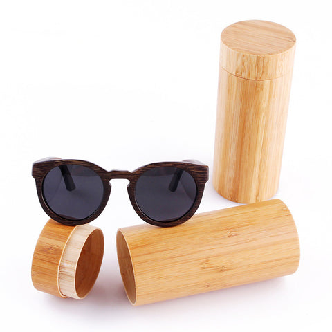 Polarized new fashion wooden sunglasses high quality bamboo frame in stock