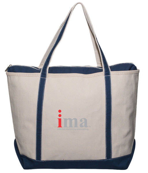Zippered Sailing Tote