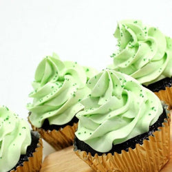 Mint Cupcakes - Classic Single Flavour, 6 pcs (CCCS11)