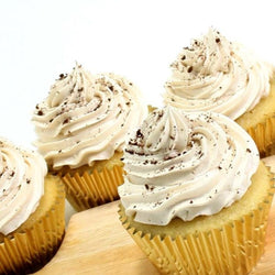 Coffee Cupcakes - Classic Single Flavour, 6 pcs (CCCS08)