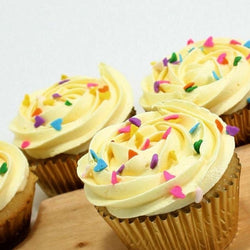 Lemon Cupcakes - Classic Single Flavour, 6 pcs (CCCS09)