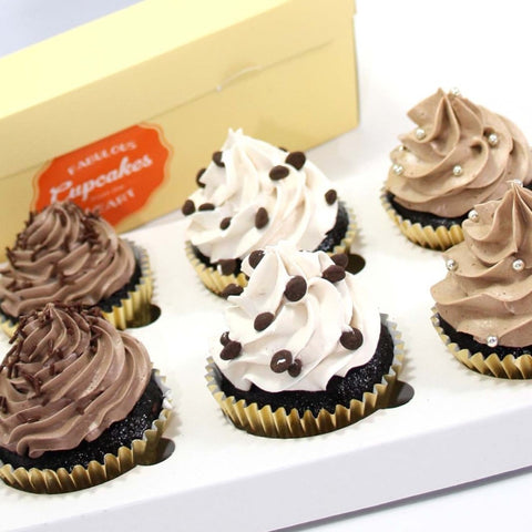 Chocolate Lover Cupcakes - Mixed Flavours, 12 pcs (CCCM04)