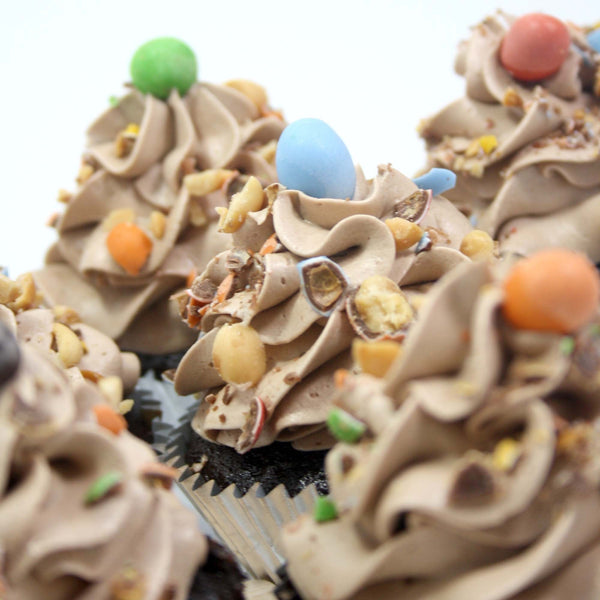 Nutella Cupcakes - Premium Single Flavour, 6 pcs (CCPS02)