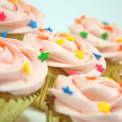 Strawberry Cupcakes - Classic Single Flavour, 6 pcs (CCCS03)