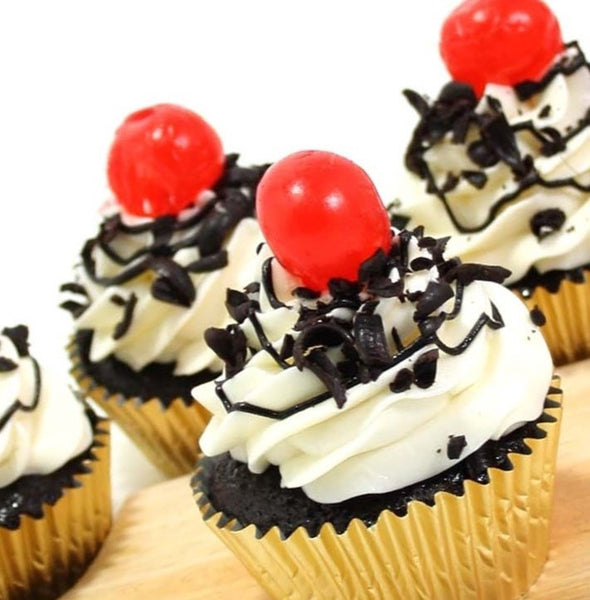 Black Forest Cupcakes - Premium Single Flavour, 6 pcs (CCPS07)