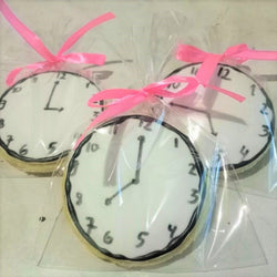 Clock Sugar Cookies (10pcs/set) (COSC03)