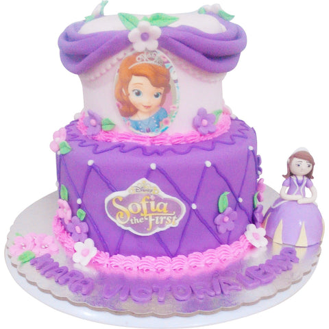 Sofia 2 Tier Birthday Cake (CKCB02)