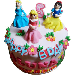 Princess Birthday Cake (CKCB01)