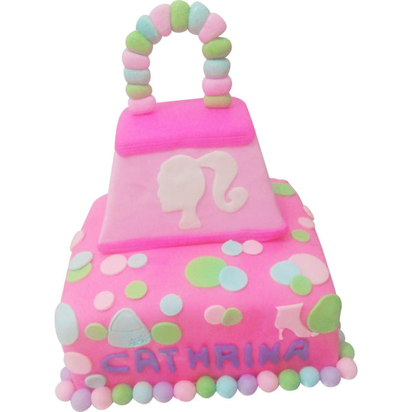 Barbie's Big Bag Birthday Cake (CKCB06)