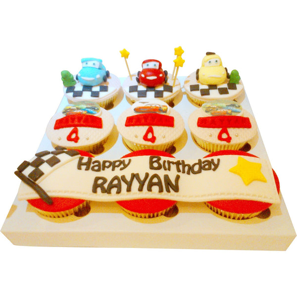Cars Birthday Cupcakes (CCB906)