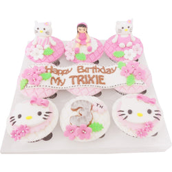 Hello Kitty Birthday Cupcakes (CCB908)