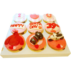 His Hobbies Birthday Cupcakes (CCB902)