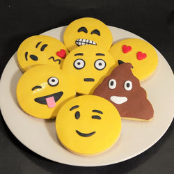 Emoji Sugar Cookies (10pcs/set) (COSC01)