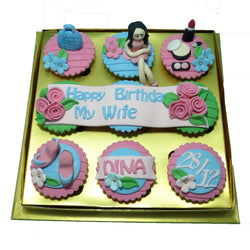 For Wife Birthday Cupcakes (CCB911)