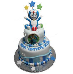 Doraemon 2 Tier Birthday Cake (CKCB14)