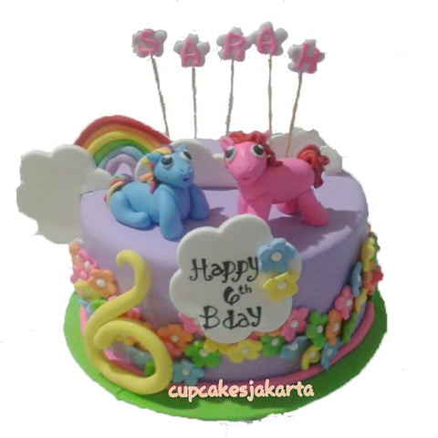 My Little Pony Birthday Cake (CKCB15)
