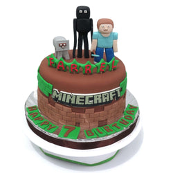 Minecraft Birthday Cake (CKCB16)