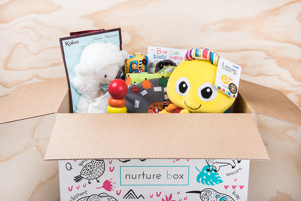 """Interact with me""! Our fabulous Gift Box for babies ready to explore their surroundings..."