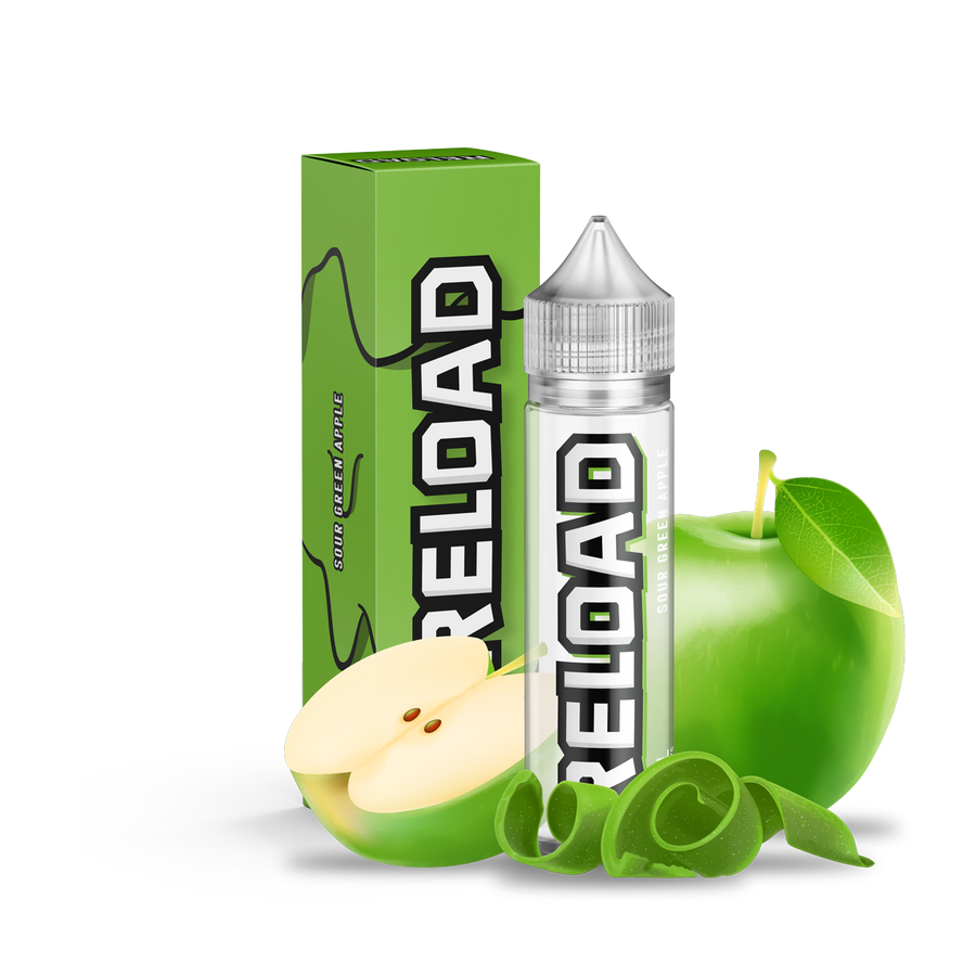 Sour green apple eliquid