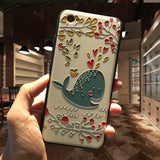 3D Relief Printing iPhone Case