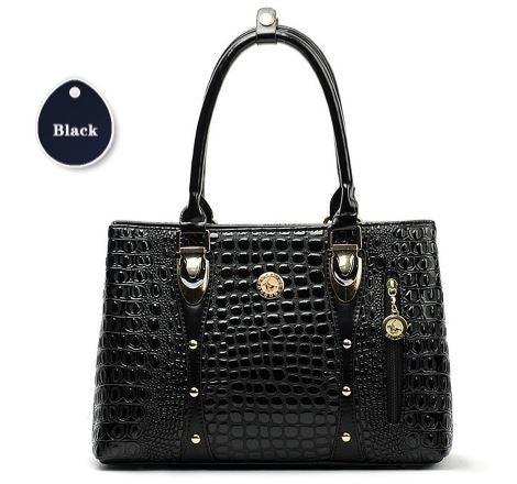 Designer Crocodile Leather Hand Bag