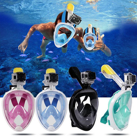 DeepClear 180° Panoramic Snorkel Mask