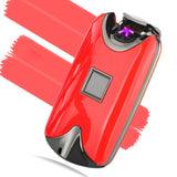 New Fingerprint Windproof Dual Arc Plasma Lighter