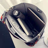 Luxury Designer Leather Bucket Bag
