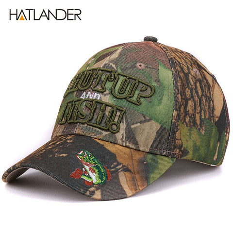 2017 Outdoor Camouflage Fishing Caps