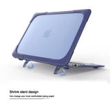 Hard Case Cover with Fold Kickstand For MacBook