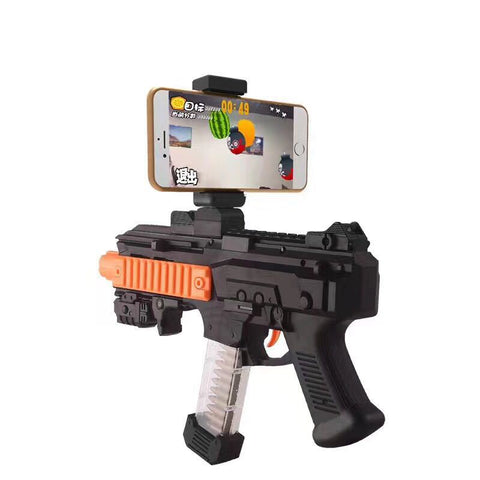 AR Game Gun with Cell Phone Stand Holder