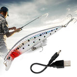 ( LIMITED 50% OFF ) Rechargeable Twitching Fishing Lures Bait