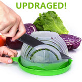 UPGRADED NEW Salad Cutter Bowl