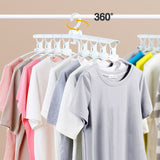 (Limited Offer: Buy 1 Free 2) 360 Degree + Super Space Saving Magic Clothes Hanger