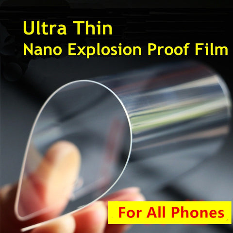 Nano 0.05mm Screen Protector Better Than Tempered Glass ( iPhone / Samsung)