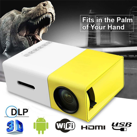 ViewHD 1080 High Resolutions Portable LED Mini Projector