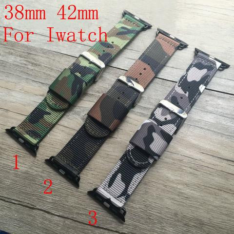 Nylon 38MM 42MM Watch Band For Apple Watch Free Shiping StrapMeister $35.99