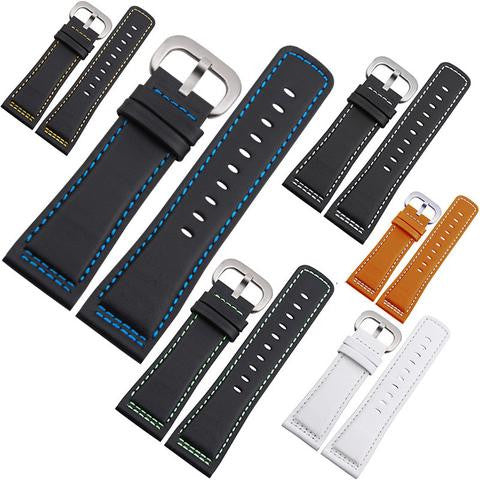28mm Leather watch strap for sevenFriday StrapMeister $37.00