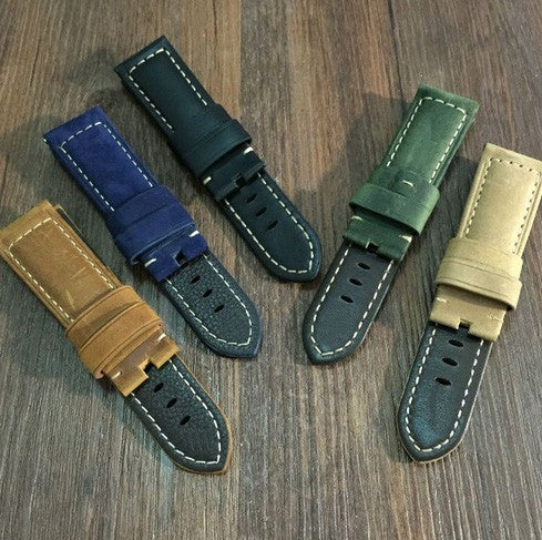 Panerai style suede leather strap StrapMeister $29.90