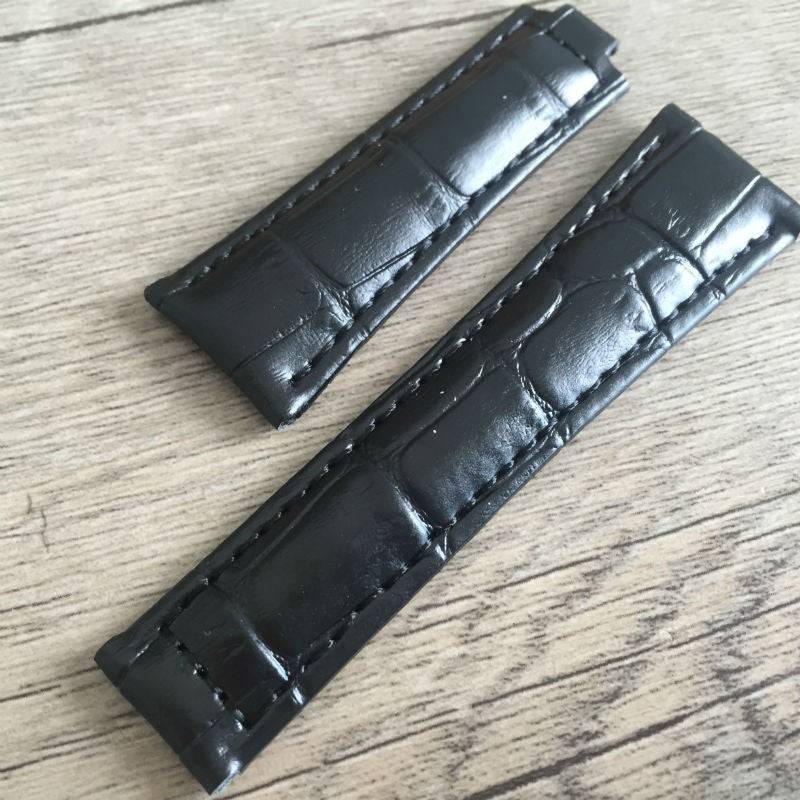 Rolex leather strap for non glidelock clasp. - StrapMeister