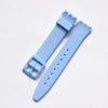 Swatch strap 17mm and 19mm High quality-strapmeister - StrapMeister
