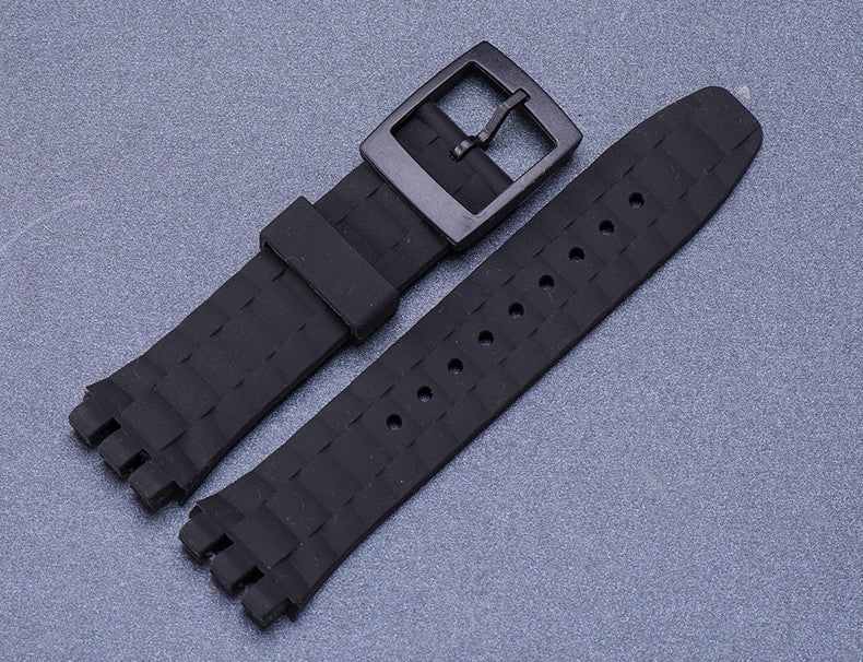 Rubber Strap for Swatch watches 21mm (suuk400 suuw100 suup100 suub dive) StrapMeister $16.99
