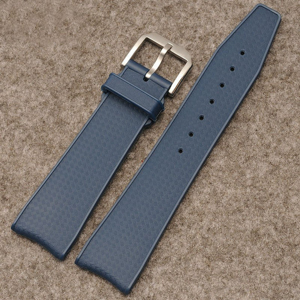 IWC rubber strap 22mm-free shipping StrapMeister $33.99
