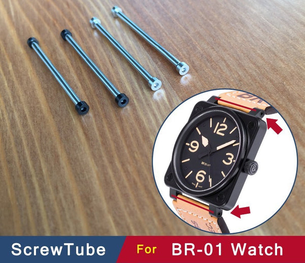 Hexagon watch screw for Bell & Ross BR01 watch 34.2 StrapMeister $37.99